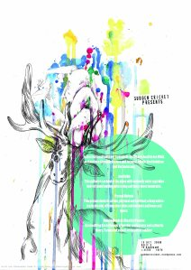 Alex Duma's poster for Jon Collin et al gig