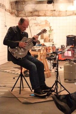 Erhard Hirt, Feb 2014, Photo: Jen Iker
