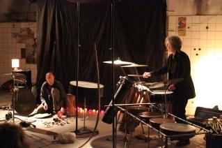 Limpe Fuchs and Ross Parfitt, May 2014, Photo: Jen Iker