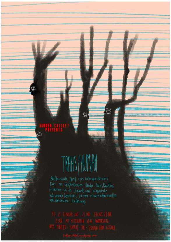Trans/Human poster by Alex Duma