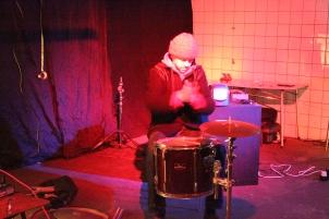 Ross Parfitt with Trans/Human, February 2015