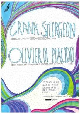 Crank Sturgeon // Olivier Di Placido, Nov 2015