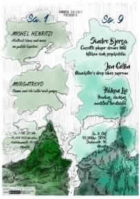 Michel Henritzi // Murgatroyd // Sindre Bjerga // Håkon Lie // Jon Collin, Oct 2016